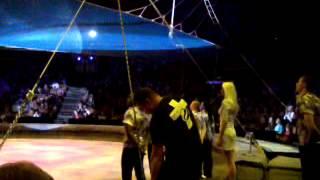 Падение гимнаста в цирке на Вернадского(Оригинал)