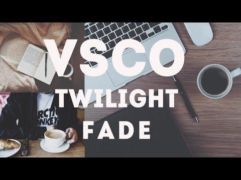 How to Make Twilight Fade Instagram Feeds Using VSCO | Easy Tutorial
