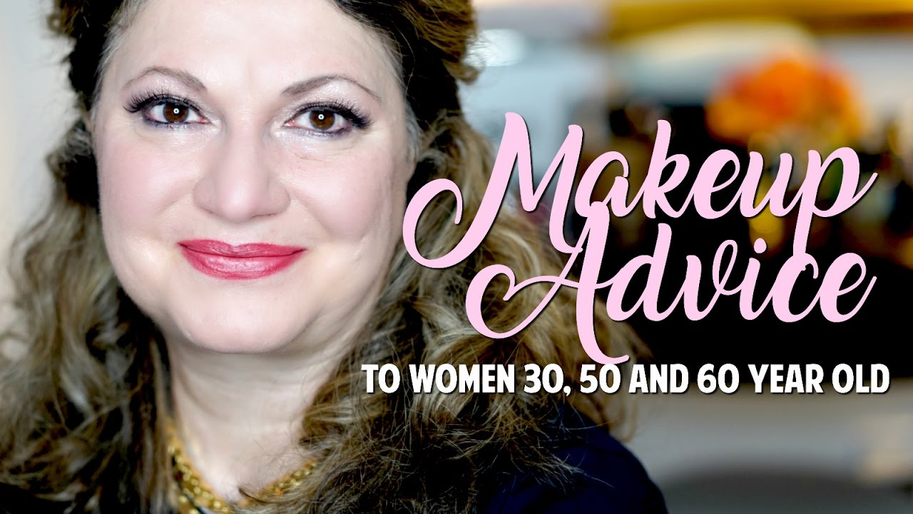 Makeup Advice To Women 30, 50, 60 Years Old - Youtube-8689