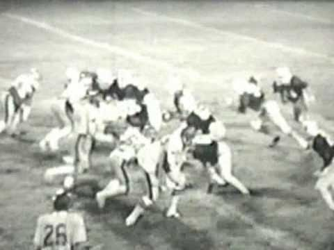 Alcorn Central High School Football 1981 Reverse Play