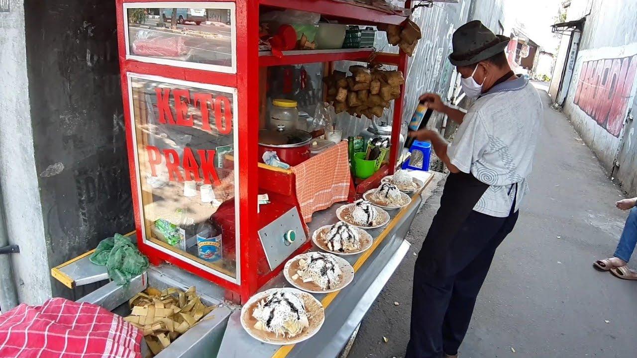 ANTRI KETOPRAK !!! JUALANNYA DI GANG 6 JAM LUDES LEGENDARIS SUDAH 30 TAHUN - INDONESIAN STREET FOODS