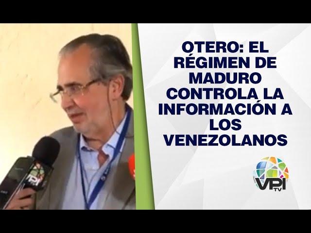 EEUU - Otero: El régimen de Maduro controla la información a los venezolanos - VPItv