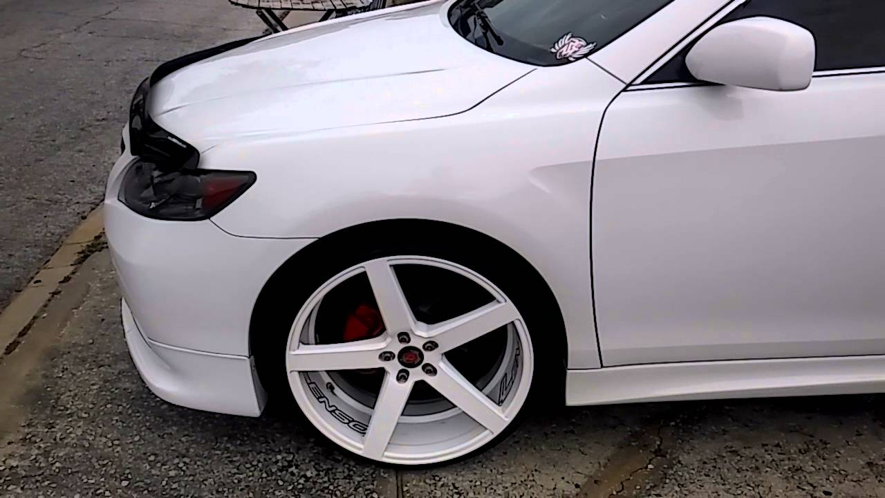 Camry Custom 22 Wheels Rims Led Lights Xle Youtube