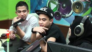 "Interview Ramlah Ram & SleeQ  Single "" Sesaat Kau Datang"" @ MuzikFM (Part 1)"
