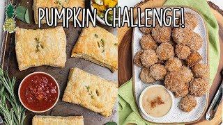 Pumpkin Recipe Challenge | Sweet vs. Savory