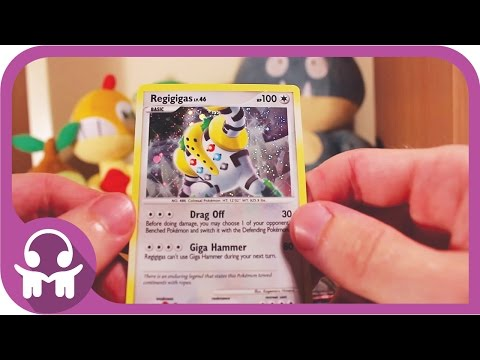 ASMR UNBOXING | Pokemon Cards (Regigigas Colossal Box)