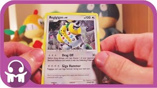 ASMR UNBOXING | Pokemon Cards (Regigigas Colossal Box)