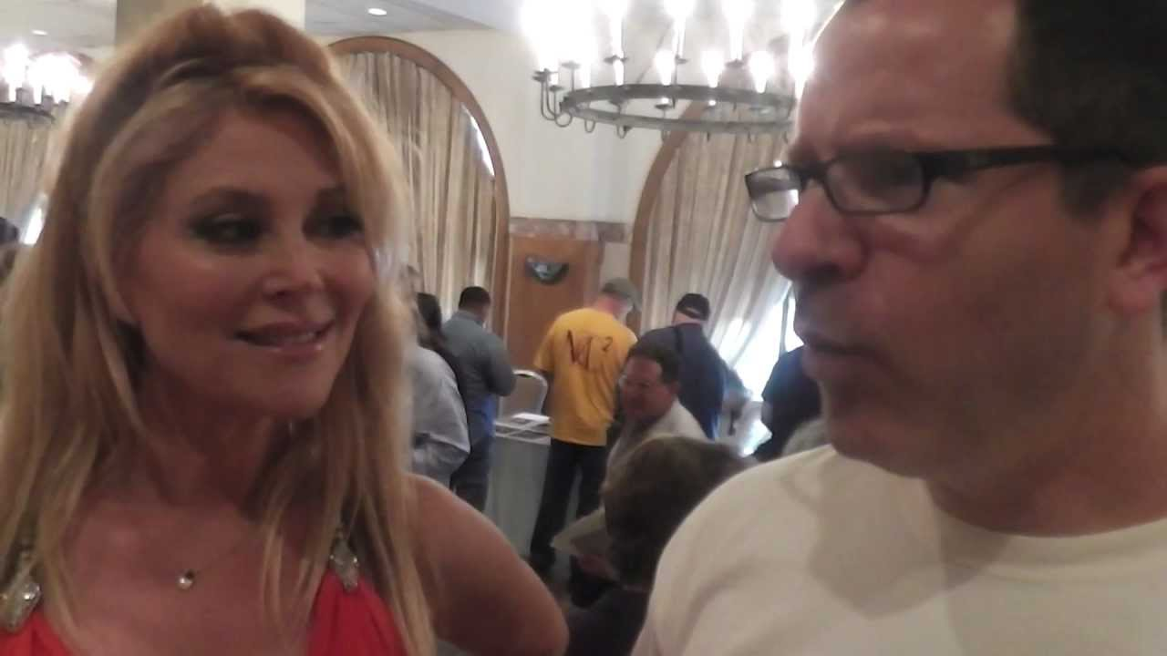 Audrey Landers Dallas audrey landers dallas tv series 2013 interview metal rules tv chiller  theatre