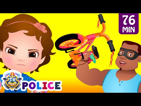 ChuChu TV Police Save The Bicycles of the Kids from Bad Guys | ChuChu TV Surprise Kids Videos