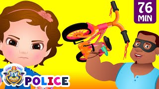 Download ChuChu TV Police Save The Bicycles of the Kids from Bad Guys | ChuChu TV Surprise Kids Videos Mp3 and Videos