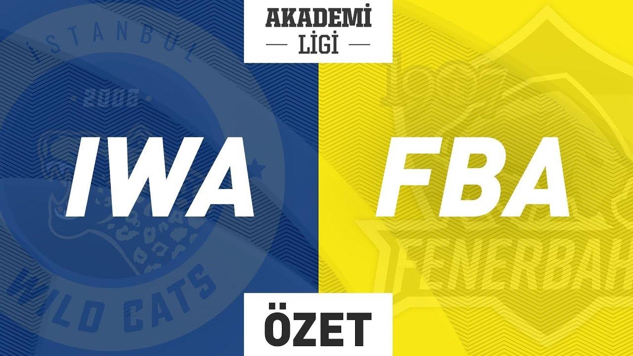 İstanbul Wildcats A ( IWA ) vs 1907 Fenerbahçe A ( FBA ) 2. Maç Özeti | 2019 AL Yaz Mevsimi Finali