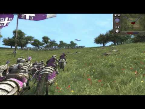 """Medieval 2 Total War online battle #135: """"France v Byzantines"""""""