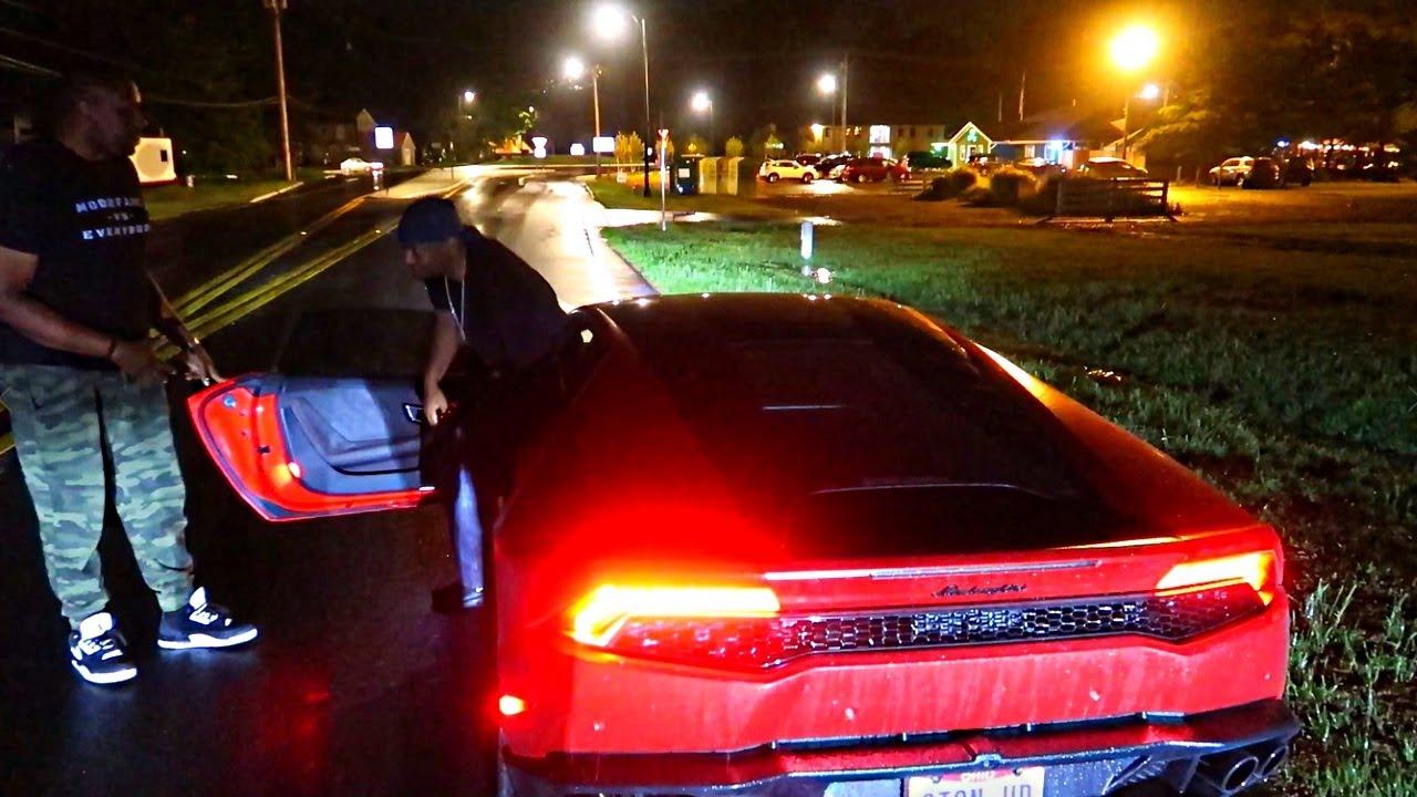 LAMBORGHINI HURACAN BROKE DOWN... COPS CALLED...