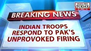 Indian troops respond to Pak