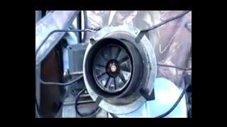 Дизельная горелка BT14L, одноступенчатая, 89-172 КВт