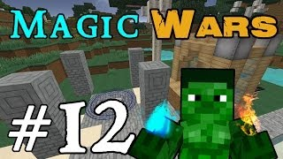 Minecraft Magic Wars - ockpii the Apprentice! #12
