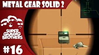 SGB Play: Metal Gear Solid 2 - Part 16 | Don't Get Caught! Don't Get Caught!