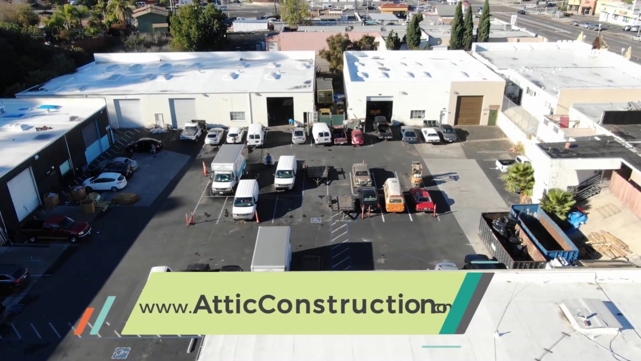 Services - Attic Construction - Insulation, Attic Cleaning, Rodent