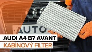 Montáž Kabínový filter AUDI A4 Avant (8ED, B7): video zadarmo