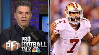 Chris Simms convinced Colin Kaepernick won't play in NFL again | Pro Football Talk | NBC Sports