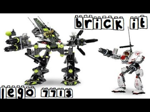 Brick It - Lego Exo-Force 7713 Bridge Walker and White Lightning