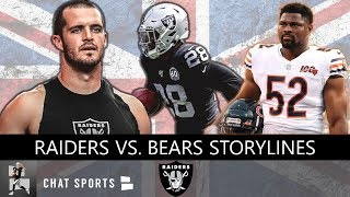 Raiders vs. Bears: News & Rumors On Khalil Mack, Roquan Smith, Mitch Trubisky Before London Game