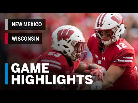 Highlights: New Mexico Lobos vs. Wisconsin Badgers | Big Ten Football