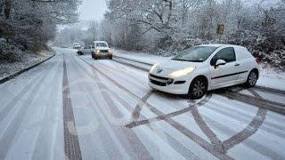 Управляемый занос. Упражнение треугольник(При заносе автомобиля нужно знать что делать, и ни в коем случае не паниковать. Занос зимой может и должен..., 2015-06-04T08:17:09.000Z)