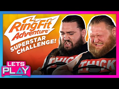 Heavy Machinery Feels The Burn On Ring Fit Adventure Superstar Challenge!