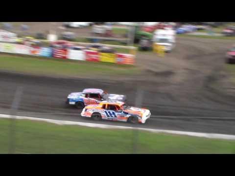Hobby Stock Heat 2 @ Hamilton County Speedway 07/02/16