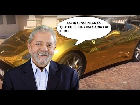 """Desmontando farsa da """"Ferrari de ouro do filho de Lula"""""""
