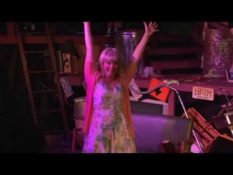 "Christina Corsaro singing ""Big French Boyfriend"" in The Toxic Avenger Musical"