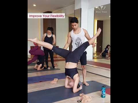 Master Saumik Bera - Yoga Inversion Real Yoga Jakarta Radio Dalam