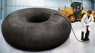 Что, если колесо трактора бесконечно накачивать насосом?
