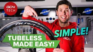 튜브리스가 쉬워졌습니다! | 튜브리스로드 타이어 설치 방법
