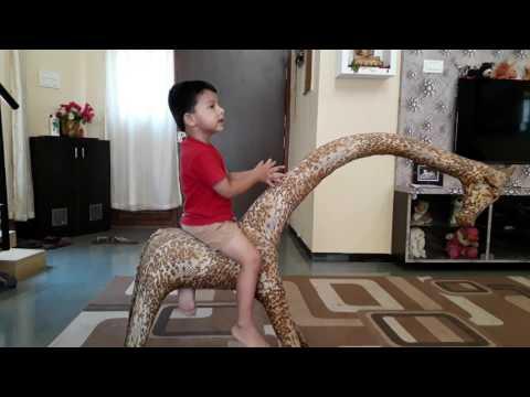 Dependent Origination (pāli) by 30 month old kid.