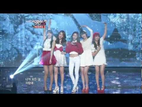 【1080P】KrystalSulli & Suzymiss A& JiyoungKARA& Sohyun- Winter Songs 21 Dec