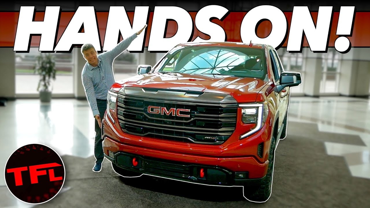 Substantially Revised 2022 Sierra 1500 Firmly Pushes GMC Into ...