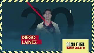 Alineación Club América Final de Vuelta vs Cruz Azul Apertura 2018 Video