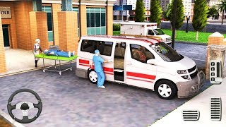 Survival Ambulance Rescue Driving - Emergency Ambulance Van Simulator - Android Gameplay