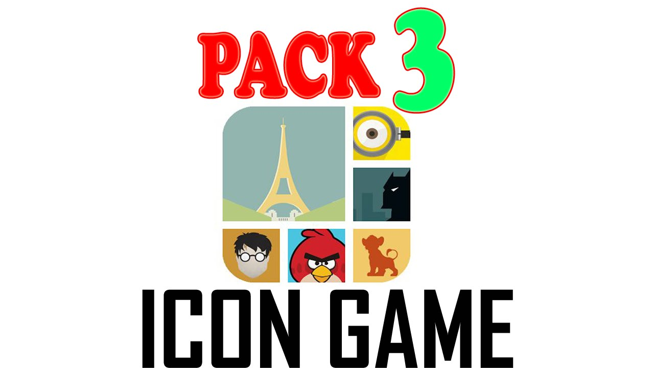Icon Game Pack 3 – All Answers – Walkthrough