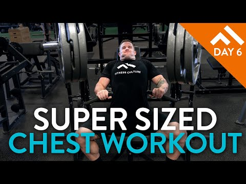 Super Sized Chest & Tricep Workout | Week in the Swole Program Pt. 2