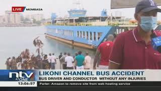 Tour bus plunges into Likoni channel