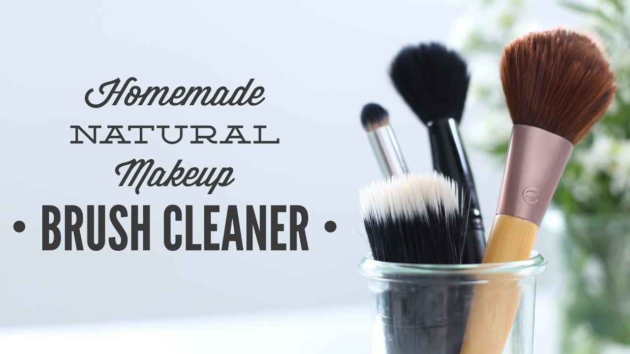 Homemade Makeup Brush Cleaner Youtube