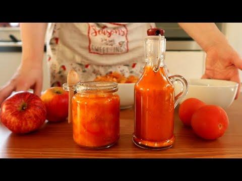recette-du-ketchup-maison-et-du-ketchup-aux-fruits-🍅👌🔝