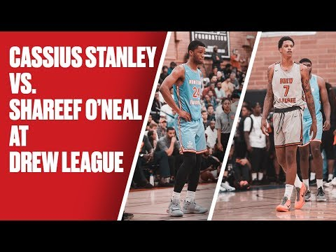 Shareef O'Neal and Cassius Stanley's Teams Go Head-to-Head at the Drew - Full Highlights