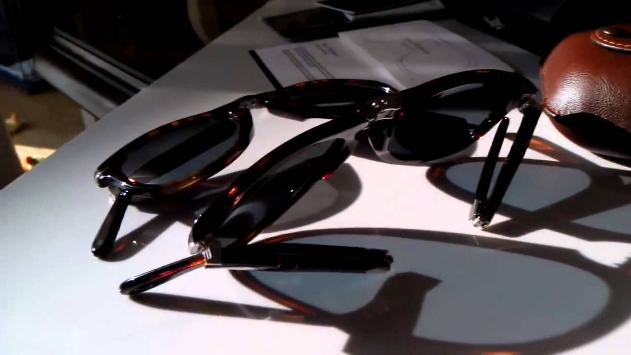1f4baedd787 Persol 714 SM Steve McQueen Folding Sunglasses 52mm 24 56 - YouTube