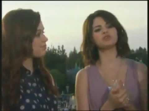 Selena Gomez & Jennifer Stone  Disney 365 Summer Nightastic