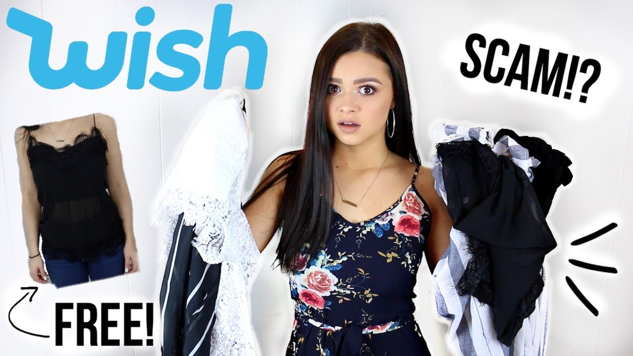 37378267216 TRYING CHEAP CLOTHES FROM WISH PART 2! IS IT A SCAM!  (SUCCESS! ) Allisa  Rose