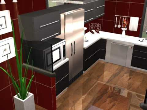 The sims 2 modern house design 6 youtube for Appartement design sims 3